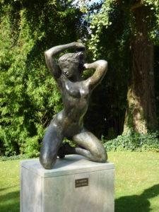 Sculpture ancienne au Jardin des plantes - Chloé Froger, 2014