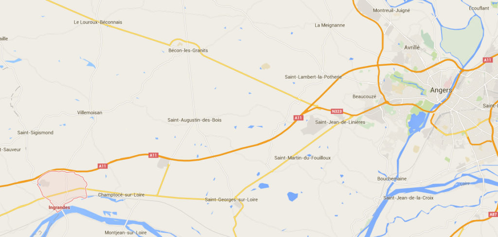 Image tirée de Google Maps