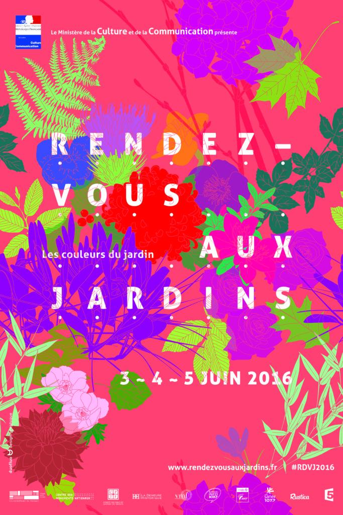 Affiche Rendez-vous au Jardin 2016